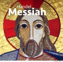 Handel Messiah text on Christ image